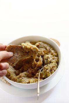 Easy Persian Eggplant Dip | No Food Processor Necessary! | minimalistbaker.com