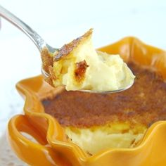 Easy Creme Brulee Eggnog Custard