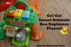 VTech Go! Go! Smart Animals Zoo Explorer Playset Review & GIVEAWAY (ends 9/30 at midnight)