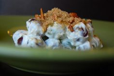 """#28 - Best Grape Salad: """"Do not skip the topping! It's what makes this so addictive."""" -GinaCucina"""