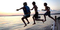 Summer on the lake lake