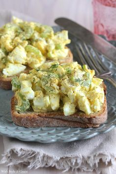 Open-face Egg Salad Sandwich | 25 Dishes To Make Your Gluten-Free Brunch Delicious
