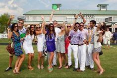 Group Shot @ Palm Beach International Polo Club End of Season 2011