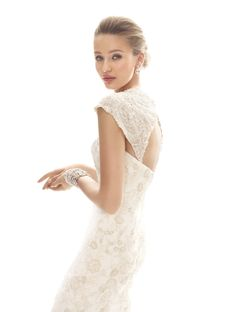 """Show us the little details that inspire your #wedding day style! Enter the """"It's All in the Details"""" Pinterest Sweeps for a chance to win a $500 David's Bridal gift certificate! Enter now: http://sweeps.piqora.com/inthedetails Rules: http://sweeps.piqora.com/fb/contest/content/davidsbridal.com/616/rules  David's Bridal Collection Tulle Over Satin Cap Sleeve Trumpet Gown Style WG3640"""