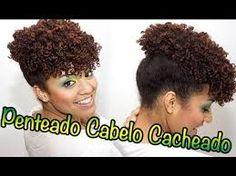 penteados para festa cabelo black - Pesquisa Google