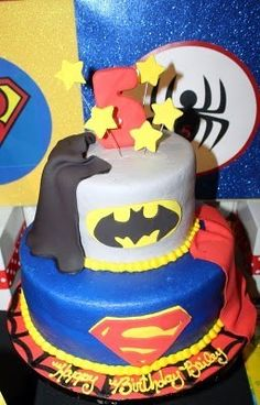 super hero party birthday-party-ideas