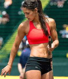Allison Stokke, California pole vaulting champion