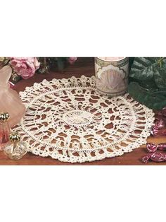 Hairpin Lace Doily 1