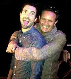 Adam and the voice producer
