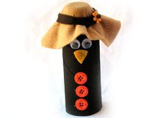 Cardboard Paper Crow: Easy Halloween and Fall Crafts for Kids - Kaboose.com