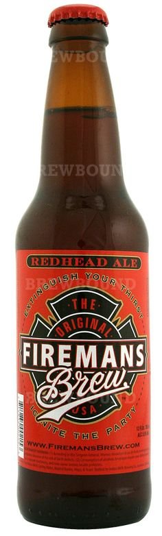 RedHead Ale...Drink up! :-)