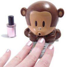 Blow Monkey Nail Dryer! How cute!!!!