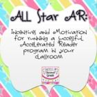 This 64 page product includes motivation and incentives for implementing a successful AR program in your class.  The following items are Included...