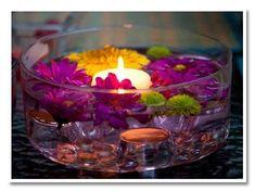 wedding reception candle centerpiece ideas