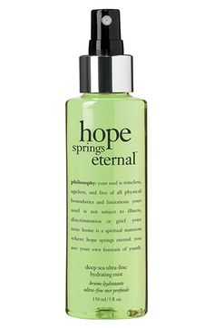philosophy 'hope springs eternal' facial mist available at #Nordstrom