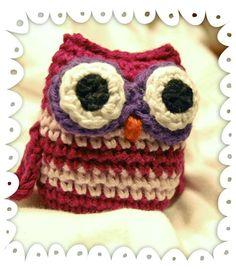 Crocheted Owl / Buho a crochet