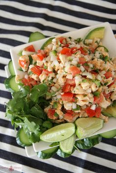 Halibut Ceviche by Heather Christo, via Flickr