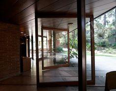 Indoor/outdoor living space.