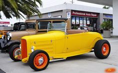 1929 Ford Hi-Boy Roadster with '32 grill