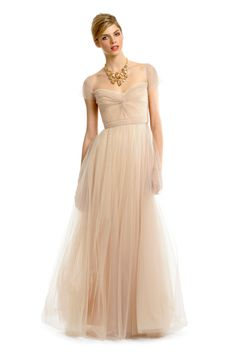Reem Acra Florence Gown