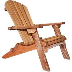 Montana Collection Adirondack Chair, Exterior Finish