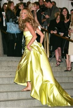 The Best Met Gala Looks of All Time Elle Macpherson in Calvin Klein Collection, 2005