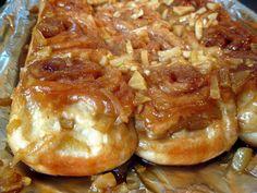 Caramel Apple Sticky Buns - A Hint of Honey
