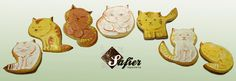 Cats cookies By Safier Repostería