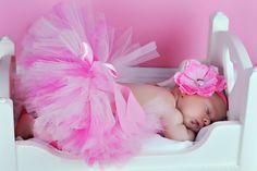 Etsy Baby   Tutu Baby Tutu Pink Flower Headband NB24M by TutusandTots on Etsy