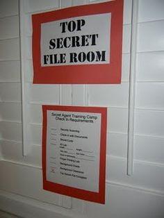 Top Secret Spy Party