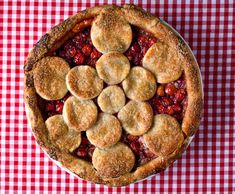 Recipe: Twice-Baked Sour Cherry Pie by Melissa Clark | Photo: Andrew Scrivani for The New York Times