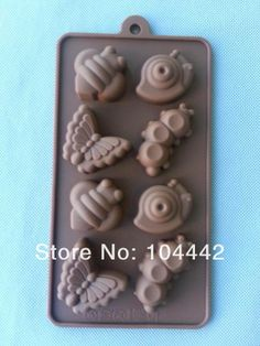 Snail caterpillar shape silicone mold, cake chocolate mold, cake print mold, ice cream baking tools-in Cake Molds from Home & Garden on Alie...