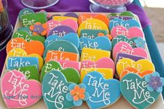 Alice in Wonderland party-Mad Hatter Cookies