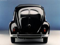 Volkswagen / VW Beetle - Rear, 1938
