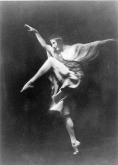 Anna Pavlova (1881- 1931) Russian Ballet Dancer