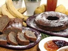 Budín de banana y semillas de amapola   Recetas   Utilisima.com