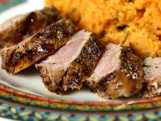 Try this recipe for Grilled Spiced Pork Tenderloin from Kimberly's Simply Southern featured on GAC!