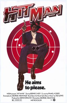 Hit Man (1972) Blaxploitation ------Bernie and Pam Grier in another afro-classic