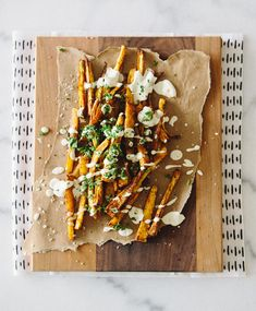 Paprika Parsnip Fries