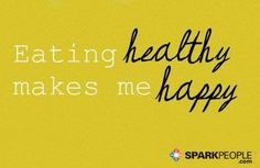 It may be hard to do sometimes, but overall, this is so true! Like or Repin if you agree! | via @SparkPeople #SmileStarters
