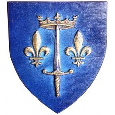 1412 – Joan of Arc, French historical figure and saint (d. 1431) | Small coat of arms of Joan of Arc ;