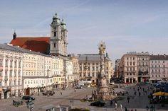 Hauptplatz Linz, Austria