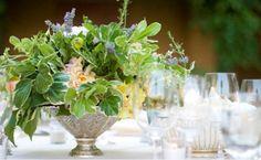 A very luxurious herbal centerpiece...