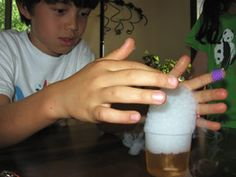 good ideas for learning about liquids, gases, and solids
