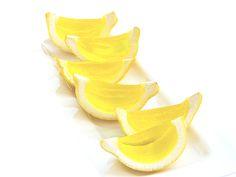 Lemon Jell-O shots