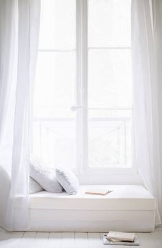 bright white- window seat
