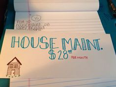 Dave Ramsey budget envelopes