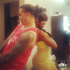 Jon & Trinity Fatu in there apartment