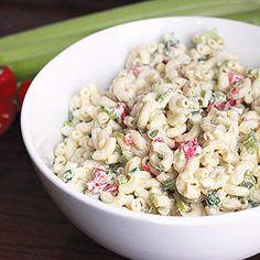 Recipe: Skinny Macaroni Salad | Skinny Mom | Where Moms Get the Skinny on Healthy Living