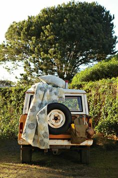 I want to live out of old jeep or bus for a few months and just travel